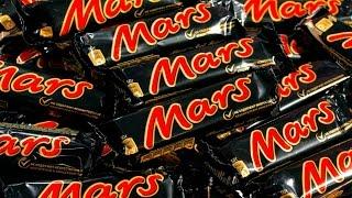 Шоколадный батончик Mars обзор. Шоколадки 90 х