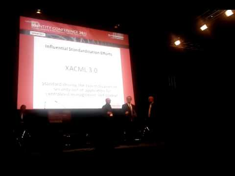 XACML 3.0 Wins Award At EIC 2011