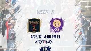 Bethlehem Steel FC vs Orlando City II full match