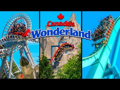 Top 10 Fastest Rides & Roller Coasters at Canada's Wonderland!