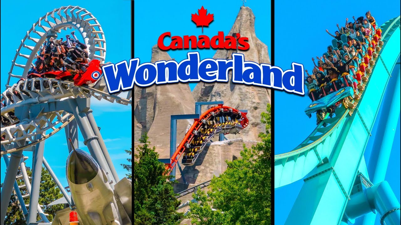 Top 10 Fastest Rides & Roller Coasters at Canada's Wonderland - YouTube