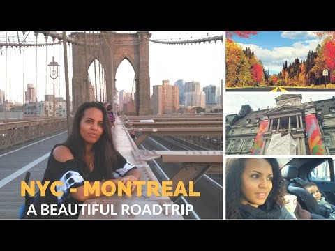 NYC to MONTREAL : AMAZING Road Trip