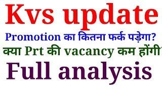 Kvs result update| Effect of promotion list| Tcf Prateek Malik