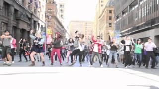 [120820] Sydney Gangnam Style Flashmob