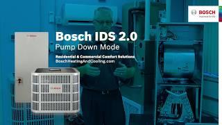 Bosch IDS 2.0 Pump Down Mode Fred C.