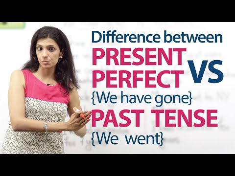 The past tense is similar to the present perfect tense from YouTube · Duration:  6 minutes 55 seconds