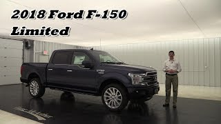 2018 FORD F-150 LIMITED OVERVIEW: STANDARD & OPTIONAL EQUIPMENT