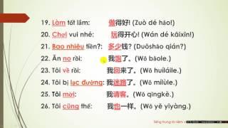 Những câu nói thường dùng trong giao tiếp (Phần 1) - TIẾNG TRUNG LÀ NIỀM VUI