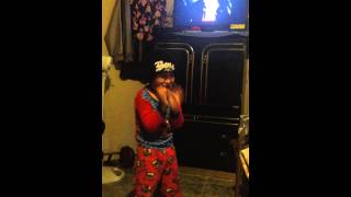 4 Year Old Boy Rapping Along To Bizzy Bone - Way Too Strong