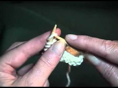 how to begin knitting casting on