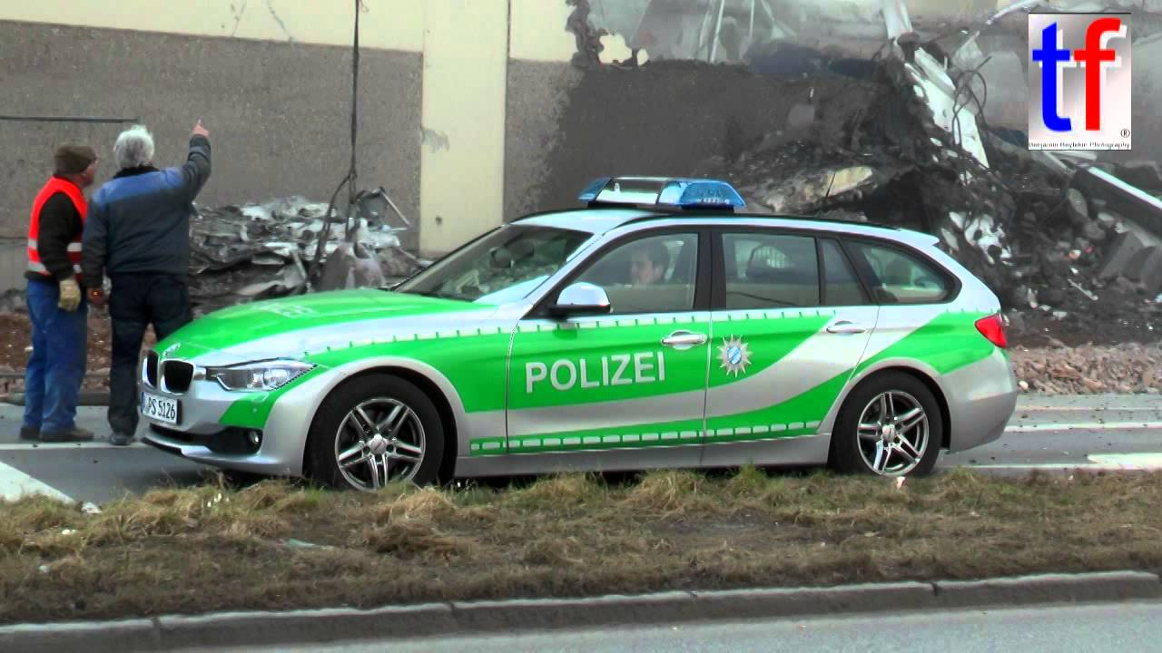 bmw 3er touring polizeiinspektion augsburg germany youtube. Black Bedroom Furniture Sets. Home Design Ideas