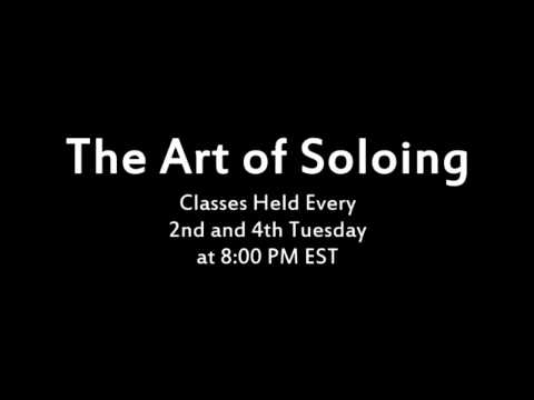 The Art of Soloing - Lead Guitar Classes by ShredMentor