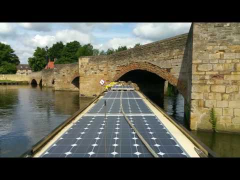 Islip Bridge Narrowboat On Schedule fail