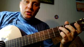 Как играть на гитаре вступление В. Цой- Кукушка
