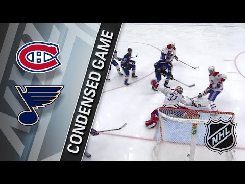 01/30/18 Condensed Game: Canadiens @ Blues