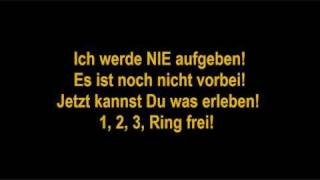 LaFee - Ring Frei Lyrics
