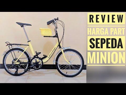 Review Sepeda Minion Modif Sepeda Mini Jadul Minitrek Youtube