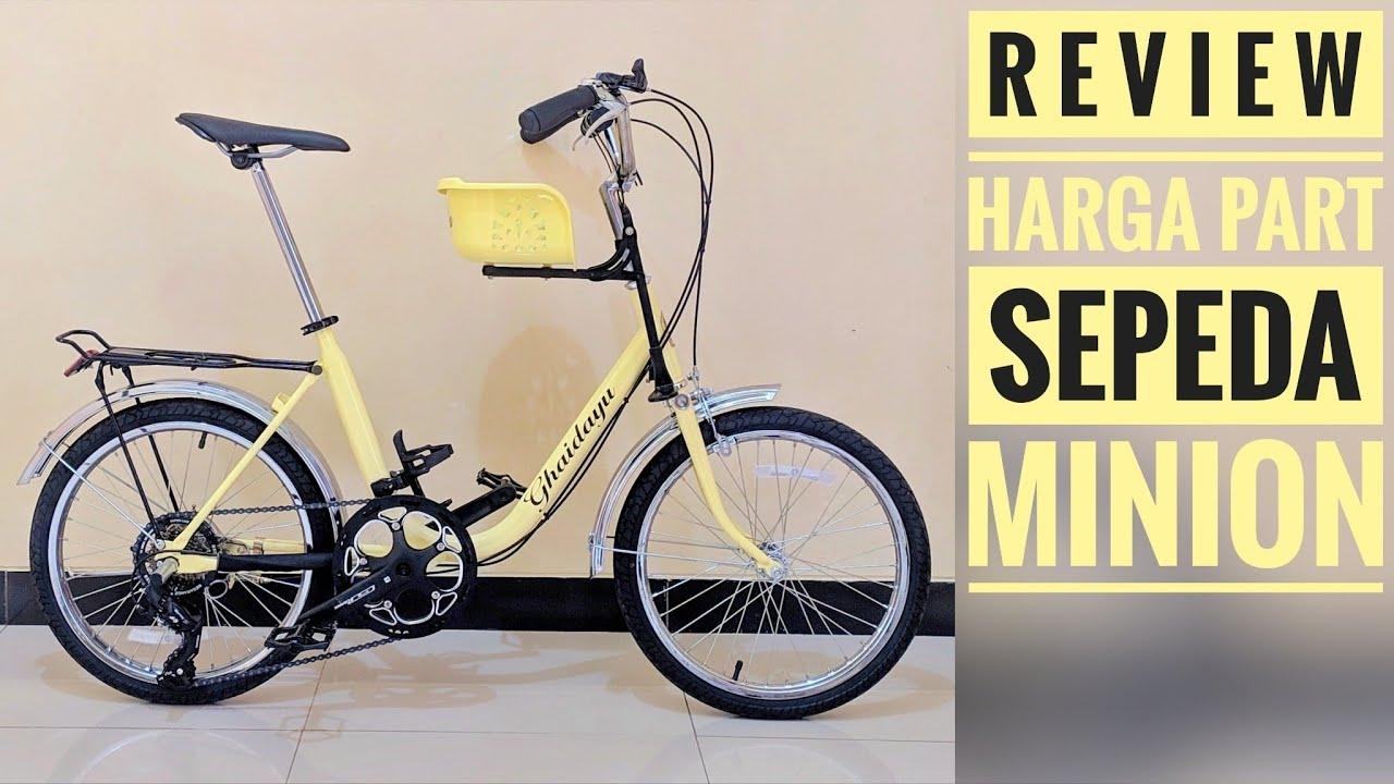 Review Sepeda Minion Modif Sepeda Mini Jadul Minitrek