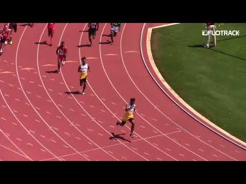 High School Team Runs Crazy Fast 39s 4x1!