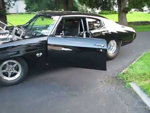 70 Chevelle Blower Pro Street Youtube