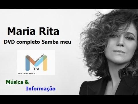 MARIA RITA ao vivo - DVD CompletoSAMBA MEU HD FULL Show