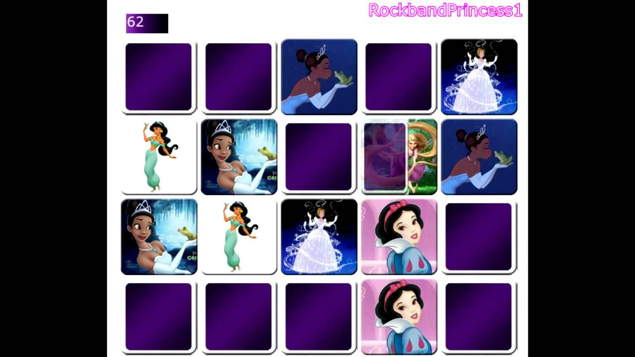 Uncategorized Princess Memory Game disney princess memory game online youtube