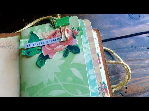 Travelers Notebook Insert Tutorial