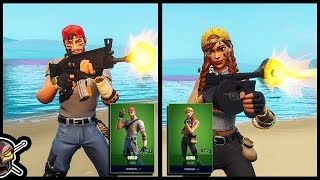 YOU BETTER BUY The *NEW* AURA and GUILD Skins in FORTNITE!