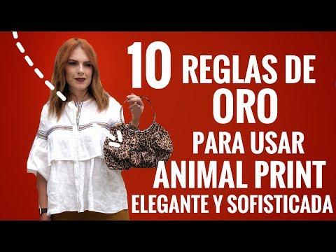 COMO USAR ANIMAL PRINT Y VERTE ELEGANTE Y SOFISTICADA