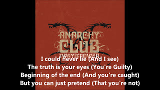 Anarchy Club - Guilty (Come Drink With Me) [Lyrics / ᴴᴰ1080p]