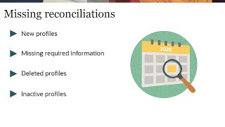 Checking for Missing Reconciliations in Reconciliation Compliance video thumbnail