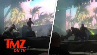 Rae Sremmurd Security Gets Down At Concert! | TMZ TV