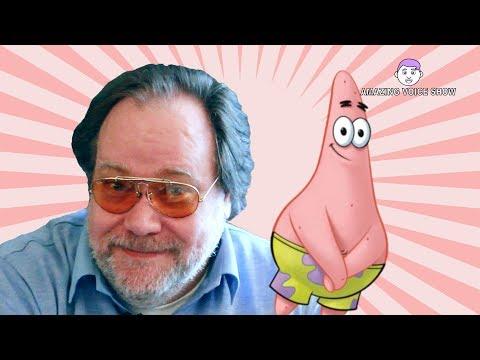 Spongebob Schwammkopf - Marco Kröger/ Patrick Star Interview (deutsche Synchronstimme)