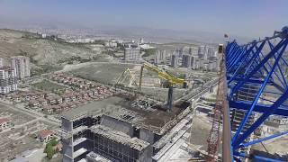 Raimondi 8 tonluk ile yüksekten görsel :) #kulevinç #towercrane #ankara #Eskişehiryolu #camera #HD
