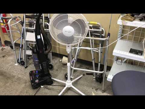 Nantucket Breeze Pedestal Fan