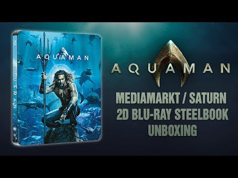 AQUAMAN || 2D STEELBOOK || MEDIAMARKT / SATURN EXCLUSIVE