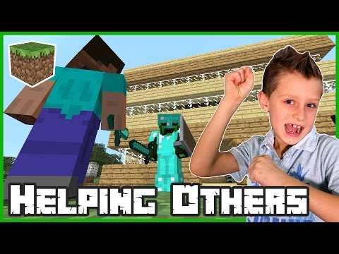 Helping Others in my Realm / Minecraft