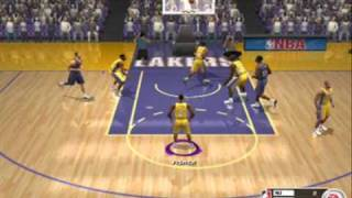 NBA Live 2003 Gameplay