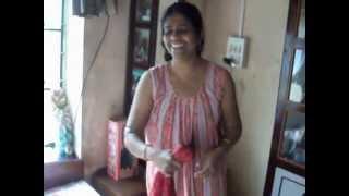 savita bhavi after bathing