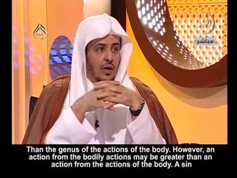 What has precedence; the actions of the heart or the bodily actions