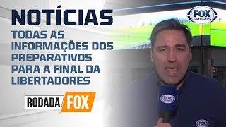 CONEXÃO ARGENTINA-PERU! JÁ ESTAMOS NA COBERTURA DA FINAL DA LIBERTADORES ENTRE RIVER X FLAMENGO