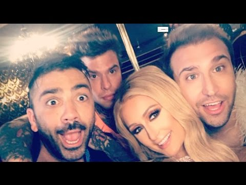 FEDEZ SUL SET CON PIO AMEDEO E PARIS HILTON LOS ANGELES VLOG 8