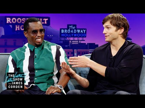 'Punk'd' Brought Ashton Kutcher & Sean 'Diddy' Combs Together