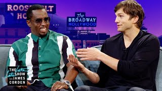 "'Punk'd' Brought Ashton Kutcher & Sean ""Diddy"" Combs Together"