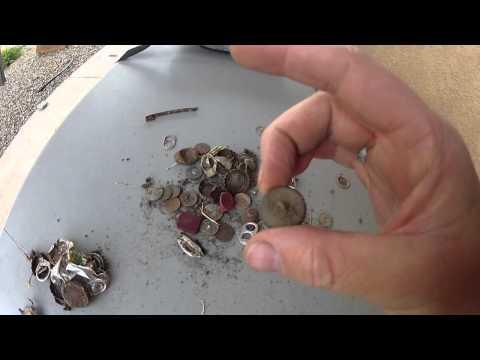 Metal Detecting Albuquerque - First Garrett AT Pro Hunt