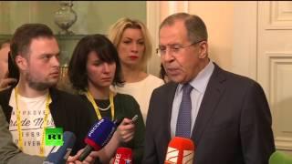 Пресс-конференция Сергея Лаврова по итогам Мюнхенской конференции по вопросам безопасности