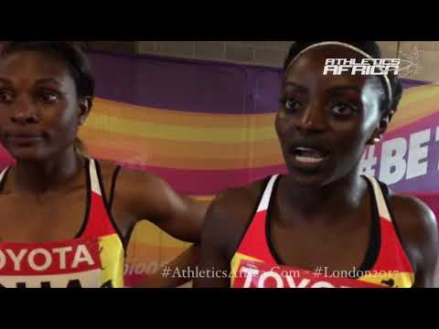 Ghana's Women 4x100m quartet bare their minds on their season, GAA, media and London 2017