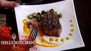 High Schoolers Rip Into Chefs Dishes | Hell's Kitchen