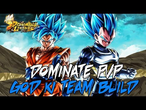 Dominate PVP With God Ki Tag Team Build Guide | Dragon Ball Legends