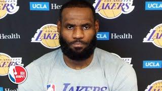 LeBron James talks Lakers' loss vs. Pacers | NBA on ESPN